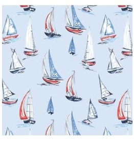 The Gift Wrap Company Roll Wrap-Full Sail
