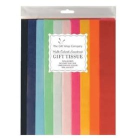 The Gift Wrap Company Tissue/Solid Asst. Colours