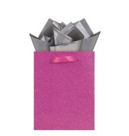 The Gift Wrap Company Giftbag/Darling Fuchsia-Mini