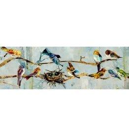Nostalgia Import Canvas-Bird Nest