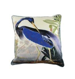Nostalgia Import Square Cushion - Heron