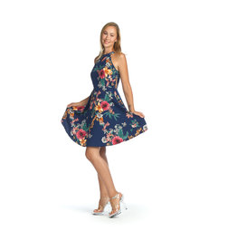 Papillon Cidney Floral Flared Dress