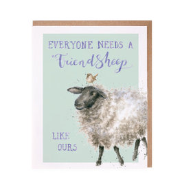 WRENDALE Card-Friendsheep Sheep