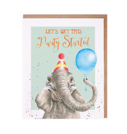 WRENDALE Card-Let's Get This Party Started