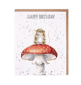 WRENDALE Card-Birthday Mouse