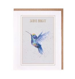 WRENDALE Card-Shine Bright