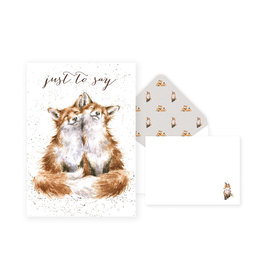 WRENDALE Thank You Card Pack - Foxes