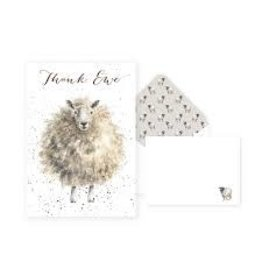 WRENDALE Thank You Card Pack - Sheep