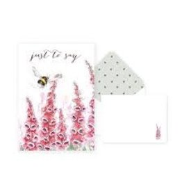 WRENDALE Thank You Card Pack - Bee