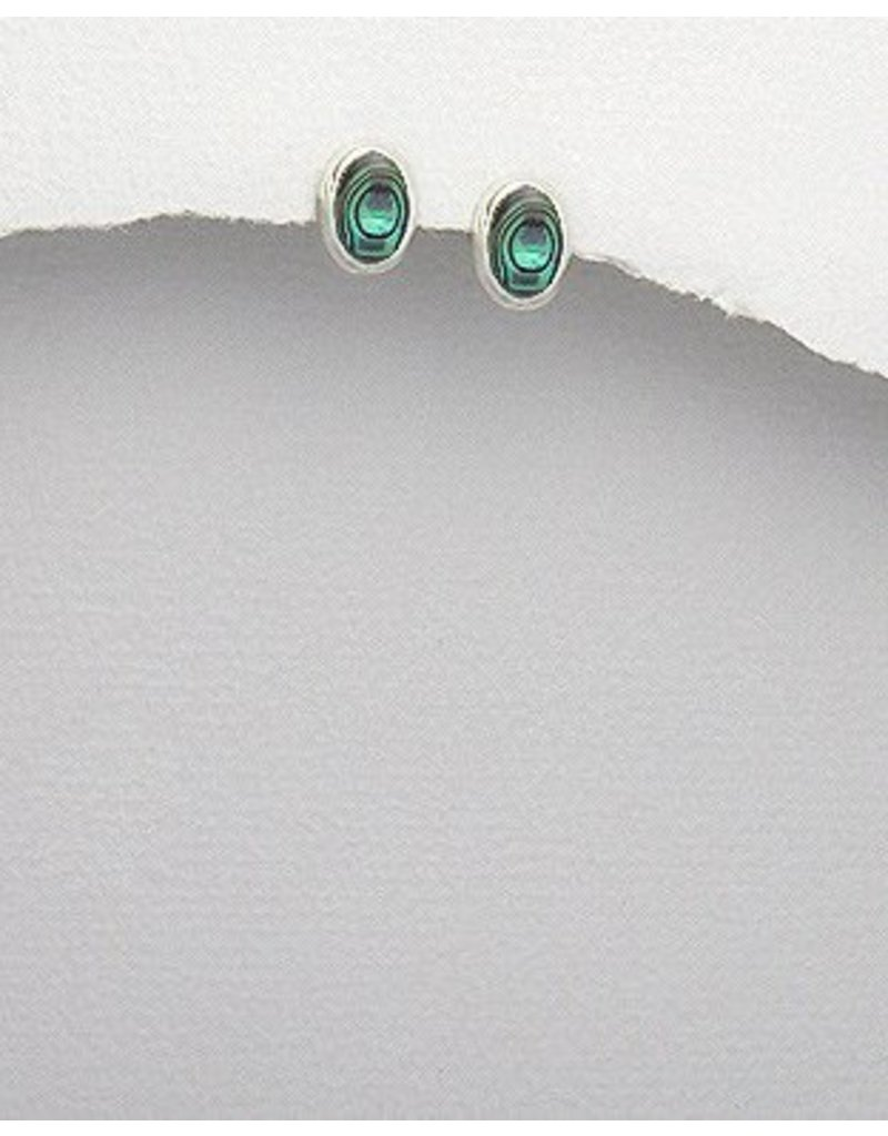 Sterling Studs:  Shell