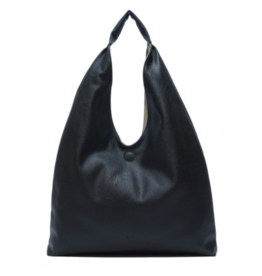 Cecilia 2-in-1 Reversible Hobo Black/Moss - Plus Extra Crossbody Bag