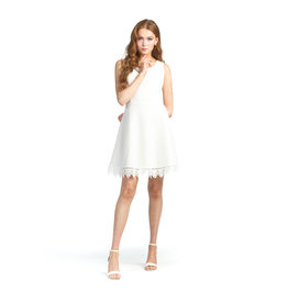Papillon Anna - Eyelet Dress with Lace Trim Bottom