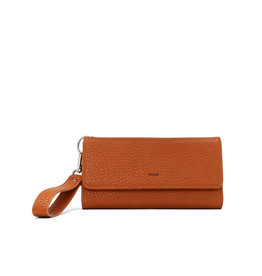 CoLab Tri Fold Wallet with Strap Tawny