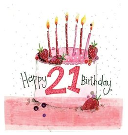 Alex Clark Card- Happy 21ST Birthday