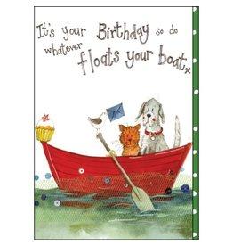 Alex Clark Float Your Boat Birthday Card