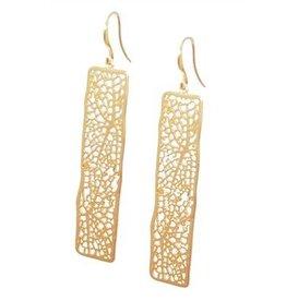 Shirleybird Earrings:  Linden