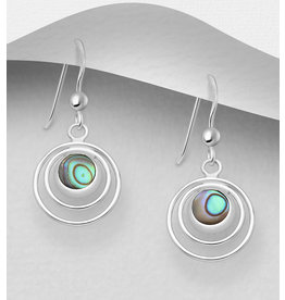 Sterling Sterling- Multi Circle W/Shell (More Colours)