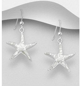 Sterling Sterling- MOP Starfish Dangle