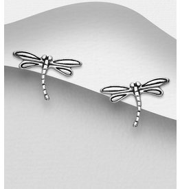 Sterling Studs- Dragonflies