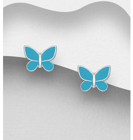 Sterling Studs- Butterfly (More Colours)
