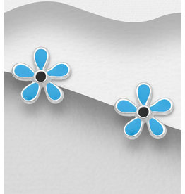 Sterling Studs- Flowers (More Colours)