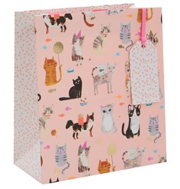 Glick Cats Tails and Whiskers Medium Gift Bag