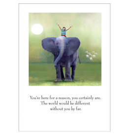 Sugarhouse/Bottman Card- Child on Elephant