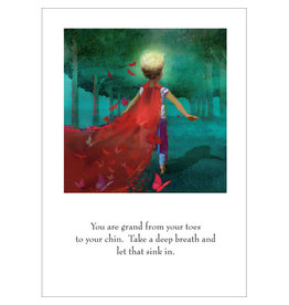 Sugarhouse/Bottman Card- Red Cape