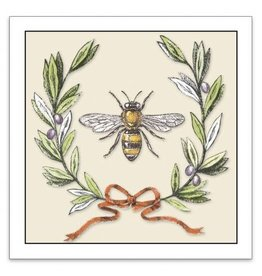 Sugarhouse/Bottman Enclosure Card- Bee with Olive