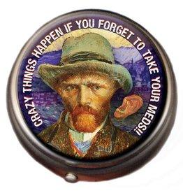 The Unemployed Philosophers Guild Pill Box - Van Gogh