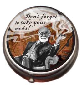 The Unemployed Philosophers Guild Pill Box - Freud