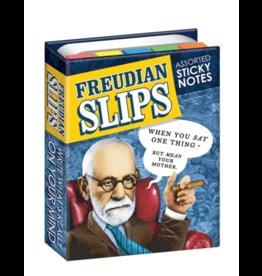 The Unemployed Philosophers Guild Sticky Notes - Freudian slips