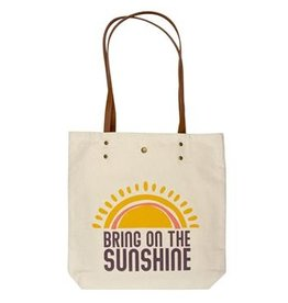 Karma Canvas Book Bag Sunshine