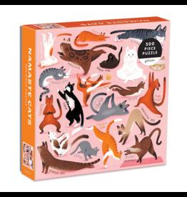 Galison Puzzle- Namaste Cats