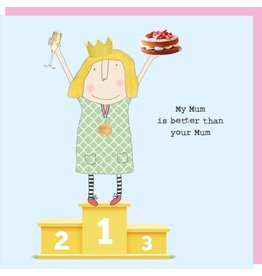 Rosie Made a Thing Card- Better Mum