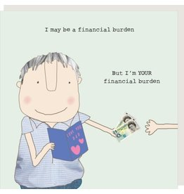 Rosie Made a Thing Card- Burden Dad