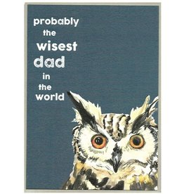 Cinnamon Aitch Card- Wisest Dad in the World