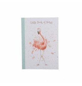 WRENDALE A6 Flamingos Notebook -Pretty in Pink