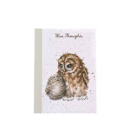 WRENDALE A6 Owl Notebook -Owl Ways By Your Side