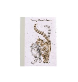 WRENDALE A6 Cat Notebook-Feline Good