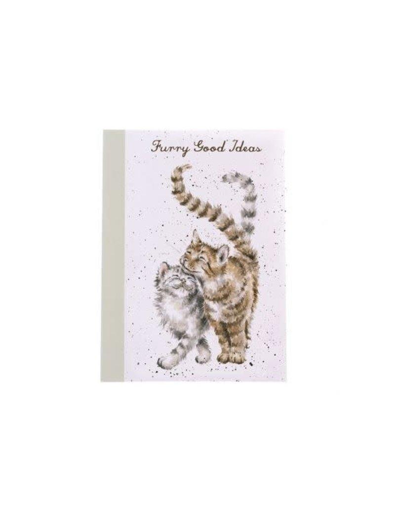 WRENDALE A6 Cat Notebook-Feline Good