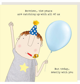 Rosie Made a Thing Card-Brother Years