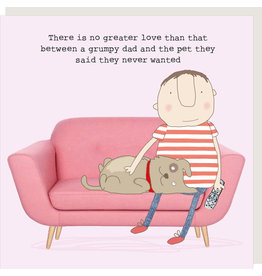 Rosie Made a Thing Card-Grumpy Dad Pet