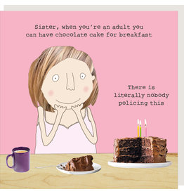 Rosie Made a Thing Card-Sister Cake