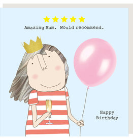 Rosie Made a Thing Card-Five Star Mum