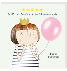 Rosie Made a Thing Card-Five Star Daughter