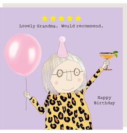 Rosie Made a Thing Card-Five Star Grandma