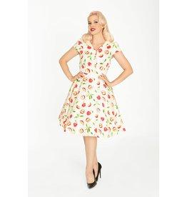 Miss Lulo Betty Dress-Apples