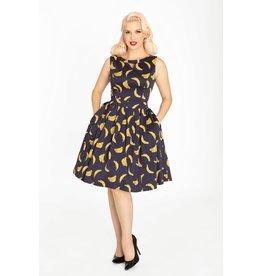 Miss Lulo Vera Dress-Bananas