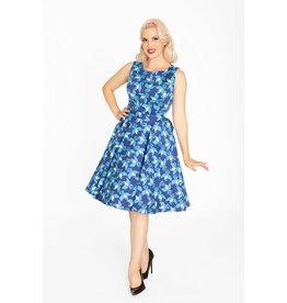 Miss Lulo Ruby Dress-Bluejays